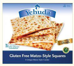 Similar to Saltines. Yehuda Matzo Style Squares, Gluten Free, (Pack of - Good GF Cracker Substitute Gluten Free Party Food, Gluten Free Recipes, Free Food, Wine Recipes, Gourmet Recipes, Snack Recipes, Passover Recipes, Snacks, Israel