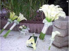 Svatební kytice - kaly. Máte ukázky pěkně uvázanýc... - str. 2
