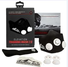 Elevation Training Masks 179787: Elevation Training Mask 2.0 Size Medium (150 - 250Lbs)-Mma Fitness -> BUY IT NOW ONLY: $39.99 on eBay!
