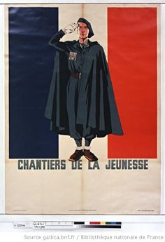 French Fascist Youth poster.