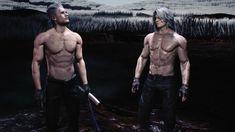 Dante Devil May Cry, Dmc 5, Dragon Age Origins, Single Dads, Resident Evil, Game Art, Videos, Crying, Bayonetta