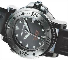 Tantalum watches: Montblanc