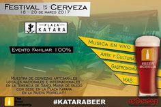 Por tres días, de las 12:00 a las 22:00 horas, se realizará el Festival de la Cerveza Plaza Katara Tenencia de Santa María de Guido, en la muy peculiar plaza ...