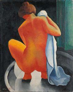 soircharmant: Moïse Kisling - Nu de feu, 1919