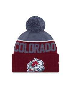 Colorado Avalanche New Era 2016 NHL Sport Knit Hat