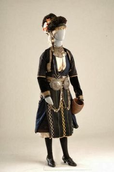 Traditional Clothes from Gida, Imathia, historical #Macedonia, northern #Greece