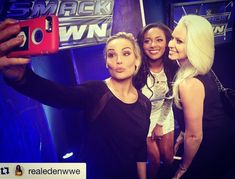 Visiting  #Repost @realedenwwe with @repostapp.・・ Chicks LOVE selfies  @therealmaryseouellet @natbynature