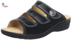 Ganter 5-205809-01000, Mules femme - Noir (Schwarz 0100), 41 EU - Chaussures ganter (*Partner-Link)