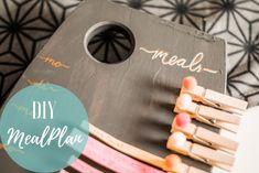 DIY - Meal Plan | The Nina Edition Planer, Meal Planning, Berlin, Blog, Meals, How To Plan, Organization, Meal, Blogging