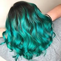 This beautiful is perfect for our clients who love to stand out ! #salonedenofraleigh