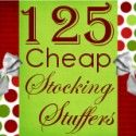 125 {plus} Cheap Stocking Stuffer Ideas | Organizing Homelife