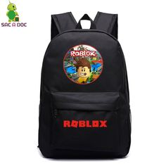 Roblox School Bag Rock Band Backpack Student School Bag Notebook Backpack Leisure Daily Backpack 8 Best School Bags Images School Bags Bags Backpacks