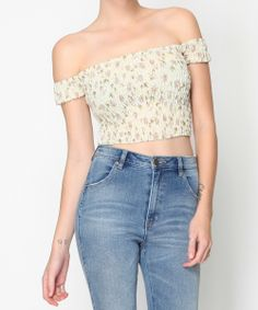 PICKING DAISY TOP | Fashion Tops | Tops | Clothing | Shop Womens | General Pants Online