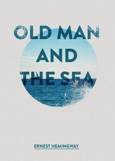 The Old Man and the Sea | #poster #design #graphic #hemingway