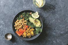 Bakkies vol belofte Aloo Gobi, Chana Masala, Ethnic Recipes, Food, Essen, Meals, Yemek, Eten