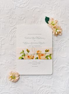 Wedding Invitations | Photography: Jose Villa | On SMP: http://www.StyleMePretty.com/2014/03/12/al-fresco-wedding-in-santa-ynez/