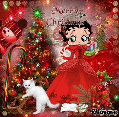 Betty Boop Merry Christmas