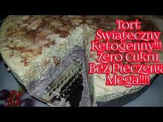 MEGA!!! Tort Świąteczny Ketogenny!!!! Zero Cukru Bez Pieczenia!!! - YouTube Keto, Youtube, Desserts, Tailgate Desserts, Dessert, Deserts, Youtubers, Food Deserts, Postres