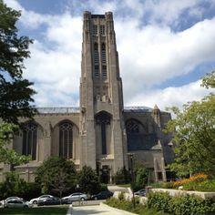 Rockefeller Chapel, University of Chicago.