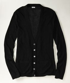 Linen Modal Cardigan: SWEATERS | Free Shipping at L.L.Bean Signature    could use a new black sweater. size is perect.
