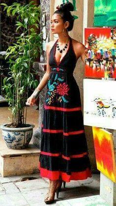 the indigena inspired dress