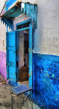ASILAH, MOROCCO by toyaguerrero, via Flickr