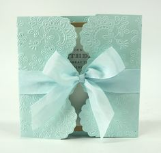 Anna Griffin Lace Gatefold Embossing Folders