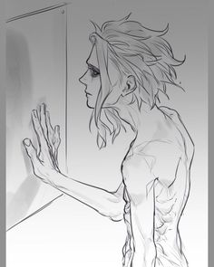 "💫 Ꮦoshinori Ꭹagi || 俊典 八木 on Instagram: ""Toshinori remained silent while he was looking at himself in the mirror. He was more than aware of his physical changes during the last six…"""