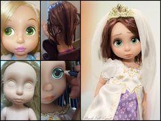 https://flic.kr/p/DeJRDH | Rapunzel animator Disney doll wedding ooak repaint tangled ever after limited edition le mariage de raiponce animator's collection photography custom custo bride bridal photography dolls
