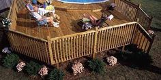 How to Build a Pool Deck - Above Ground Pool Deck Plans