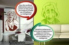 El día que Marilyn le propuso matrimonio a Einstein #teleadhesivo #decoracion