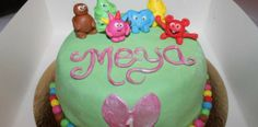 Tårta med Babblarna. Cake decoration inspiration