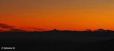 """""""Monviso al tramonto da Bielmonte"""" - Oasi Zegna, in Piemonte, nella Provincia di Biella. www.oasizegna.com #Italy"""