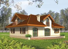Casa americana Marysia Design Case, Villa, Exterior, House Design, Mansions, Country, House Styles, Home Decor, Angel