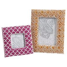 As seen on HGTV's Flipping the Block, Episode 5 – The Guest Room: 2-Piece Kamie Picture Frame Set