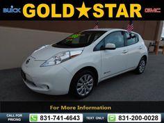 2013 Nissan LEAF S 29k miles $12,988 29135 miles 831-741-4643 Transmission: Automatic  #Nissan #LEAF #used #cars #GoldStarBuickGMC #Salinas #CA #tapcars