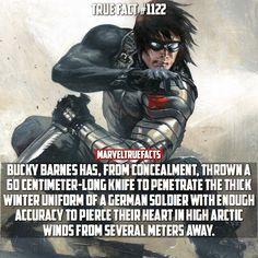 Bucky is a true badass.