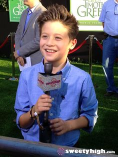 Davis Cleveland at The Odd Life of Timothy Green premiere
