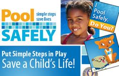 The poolsafely.gov website has a wealth of resources for parents, families, and operators about drowning prevention and pool safety!