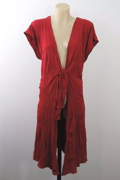 Plus Size S 16 Taking Shape Red Jacket Top Crinkle Layer Cocktail Business Style    eBay