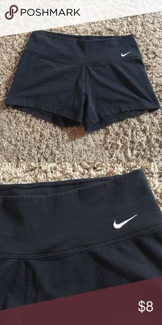 Nike Dri-fit shorty shorts Short workout shorts by Nike.  61% cotton/33% polyester/6% spandex Nike Shorts