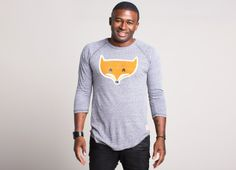 """A Fox with Socks"" - Threadless.com - Best t-shirts in the world"