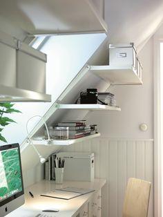 IKEA saklama çözümleri - Eğimli duvarlarınız için akıllı çözümler...