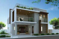 800 sqft 2 bhk Villa Builder Project Other 2 Storey House Design, Duplex House Design, Duplex House Plans, House Front Design, Modern House Plans, Small House Plans, Modern House Design, Home Design, Independent House