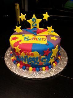the wiggles cake Wiggles Birthday, Wiggles Party, Wiggles Cake, The Wiggles, Twin Birthday Cakes, Homemade Birthday Cakes, Harry Birthday, 2nd Birthday, Birthday Ideas