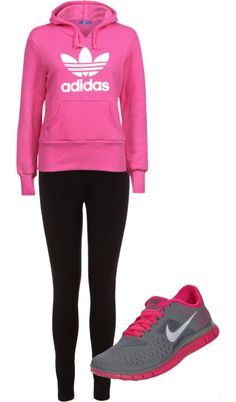 cute sporty outfit, already have the shoes.