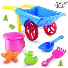 Cheap bath toys, Buy Quality beach toys directly from China toys for beach Suppliers: Beach toys for children 9 times beach bucket of sand shovel toy car kit bath toy Beach Play, Beach Toys, Cheap Baths, Bucket And Spade, Beach Bucket, Wheelbarrow, Classic Toys, Summer Kids, Cute Kids
