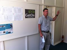 Meet Brenton, the General Manager of our GetOn Skills Development Centre. Why not see him in person on our next Open Day on 20 February at 10.00 am. Venue: ArcelorMittal Business Park, Frikkie Meyer Road, Pretoria West.