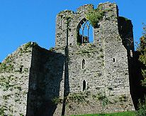 Oystermouth Castle Mumbles South Wales