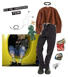 """""""everywhere i go i know i'm not welcome / # 18"""" by kusojin ❤ liked on Polyvore featuring Dr. Martens, Uniqlo, Nika and Diane Von Furstenberg"""